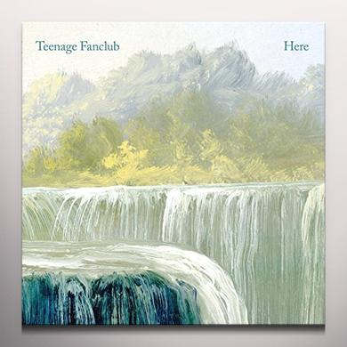 Teenage Fanclub HERE Vinyl Record - Clear Vinyl, UK Import