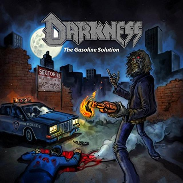 The Darkness GASOLINE SOLUTION Vinyl Record - UK Import