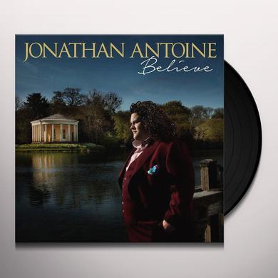 Jonathan Antoine BELIEVE Vinyl Record