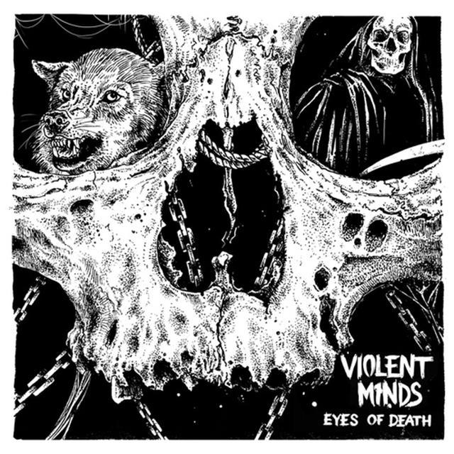 VIOLENT MINDS EYES OF DEATH Vinyl Record