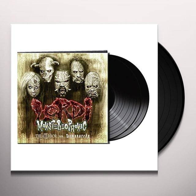 Lordi MONSTEREOPHONIC (THEATERROR VS. DEMONARCHY) Vinyl Record