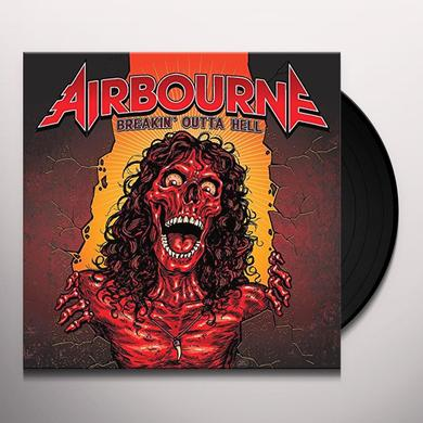 Airborne BREAKIN OUTTA HELL Vinyl Record