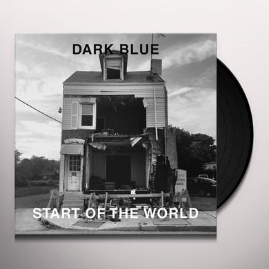Dark Blue START OF THE WORLD Vinyl Record
