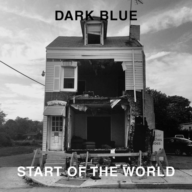 Dark Blue START OF THE WORLD Vinyl Record