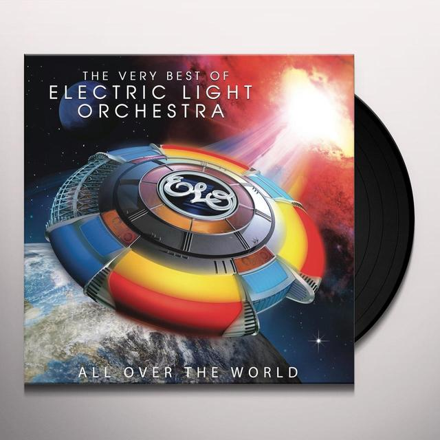 Elo ( Electric Light Orchestra ) ALL OVER THE WORLD: VERY BEST OF ELECTRIC LIGHT Vinyl Record