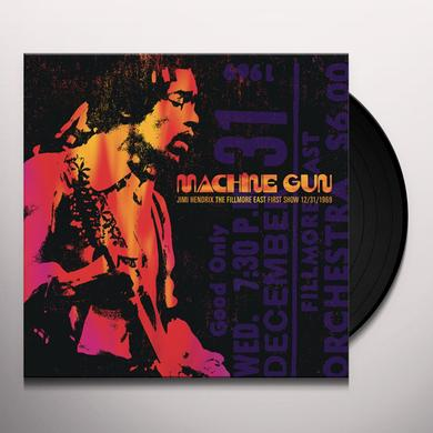 MACHINE GUN JIMI HENDRIX THE FILLMORE EAST FIRST Vinyl Record