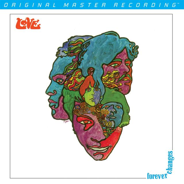 Love FOREVER CHANGES Vinyl Record - Limited Edition, 180 Gram Pressing