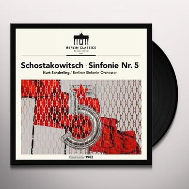 SHOSTAKOVICH / BERLINER SINFONIE ORCHESTER SHOSTAKOVICH: SYMPHONY 5 Vinyl Record