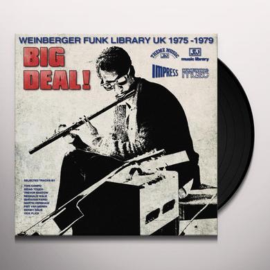 BIG DEAL WEINBERGER FUNK LIBRARY UK 1975-79 / VAR Vinyl Record