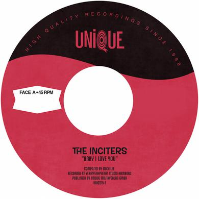 Inciters BABY I LOVE YOU Vinyl Record