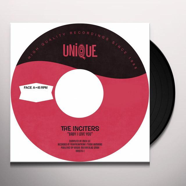 Inciters BABY I LOVE YOU Vinyl Record