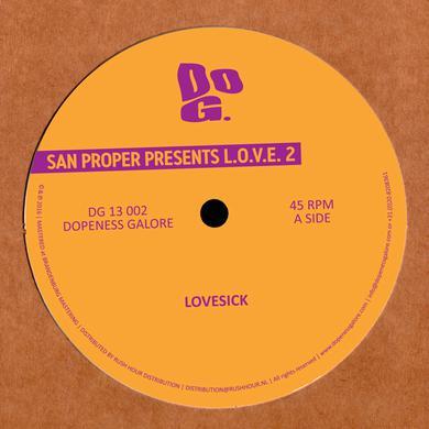 San Proper L.O.V.E. 2 Vinyl Record