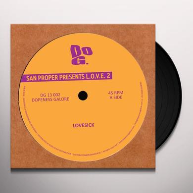 San Proper L.O.V.E. 2 Vinyl Record - 10 Inch Single