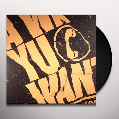 ISHAN SOUND WA YU WANT Vinyl Record