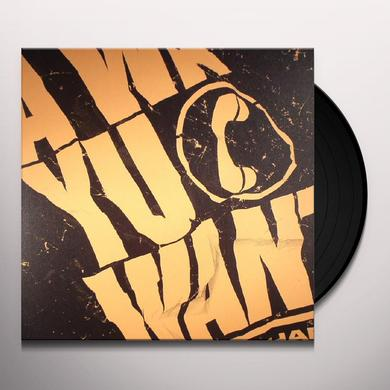 ISHAN SOUND WA YU WANT Vinyl Record
