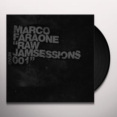 Marco Faraone RAW JAMSESSIONS 001 Vinyl Record