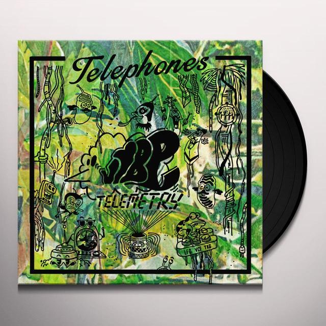Telephones VIBE TELEMETRY Vinyl Record