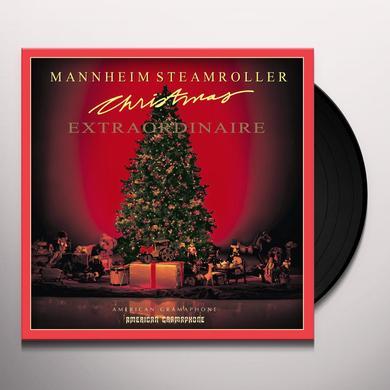 Mannheim Steamroller CHRISTMAS EXTRAORDINAIRE Vinyl Record