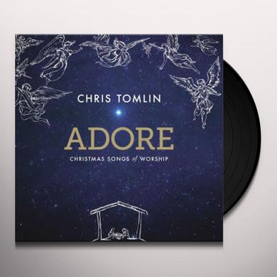 Chris Tomlin ADORE: CHRISTMAS SONGS OF WORSHIP Vinyl Record