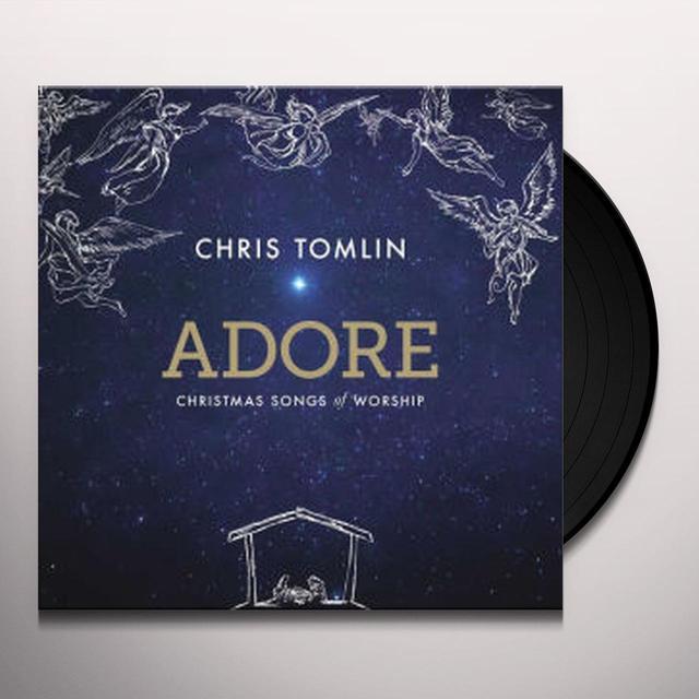 chris tomlin adore christmas songs of worship vinyl record