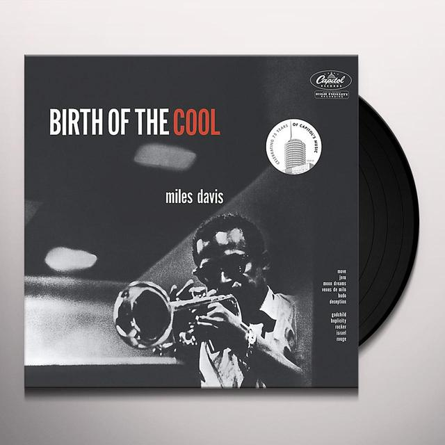 Miles Davis BIRTH OF THE COOL Vinyl Record