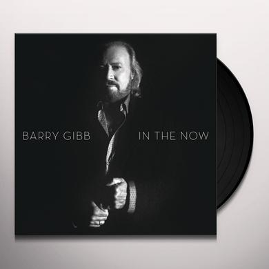 Barry Gibb IN THE NOW Vinyl Record - 180 Gram Pressing, Digital Download Included