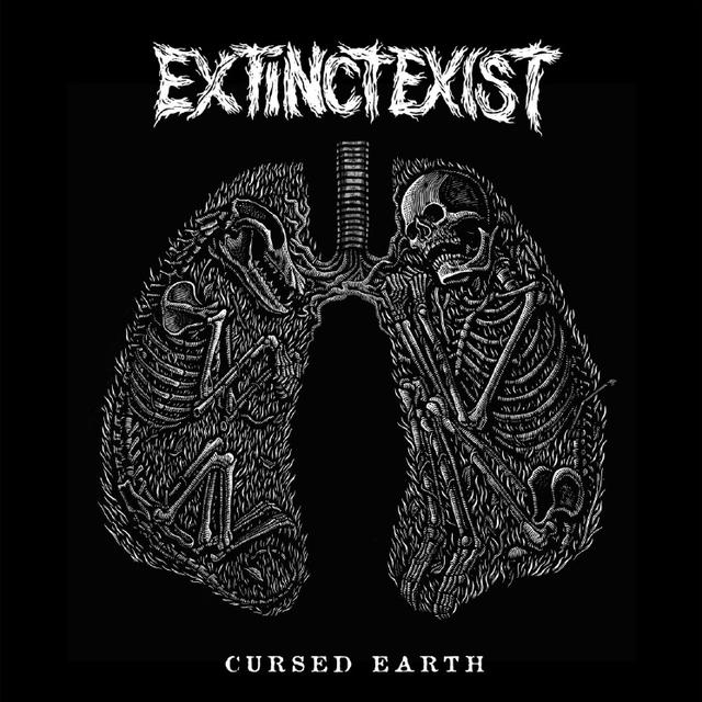 EXTINCTEXIST CURSED EARTH Vinyl Record