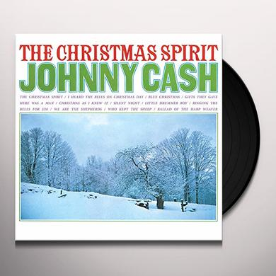 Johnny Cash CHRISTMAS SPIRIT Vinyl Record