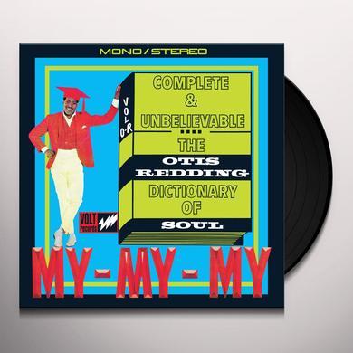 COMPLETE & UNBELIEVABLE: OTIS REDDING DICTIONARY Vinyl Record