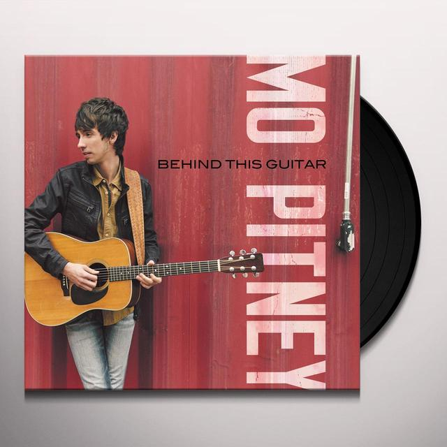 Mo Pitney BEHIND THIS GUITAR Vinyl Record - 180 Gram Pressing, Digital Download Included