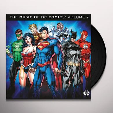MUSIC OF DC COMICS 2 / VARIOUS (HOL) MUSIC OF DC COMICS 2 / VARIOUS Vinyl Record