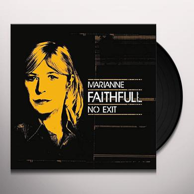 Marianne Faithfull NO EXIT Vinyl Record