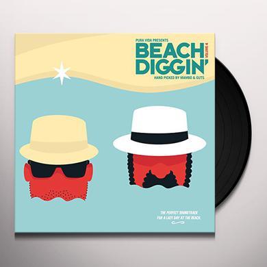 BEACH DIGGIN VOL 4: HANDPICKED BY GUTS & MAMBO Vinyl Record