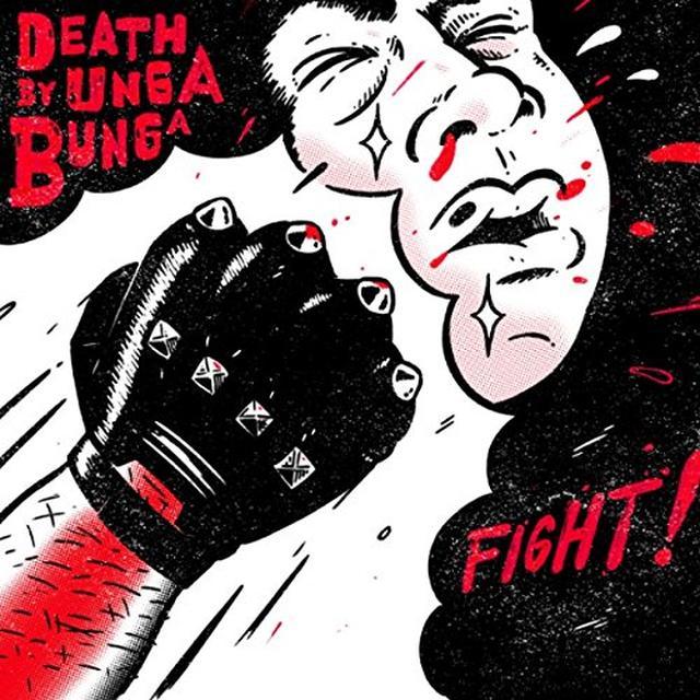 Death By Unga Bunga FIGHT (EP) Vinyl Record - UK Import