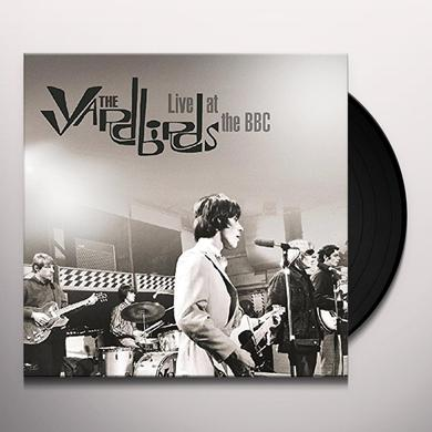 Yardbirds LIVE AT THE BBC Vinyl Record - UK Import
