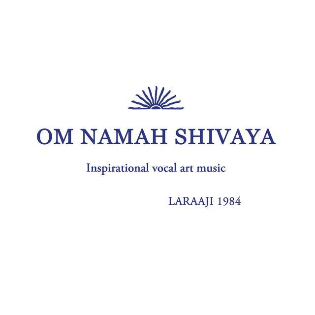 Laraaji OM NAMAH SHIVAYA Vinyl Record - Orange Vinyl, Digital Download Included