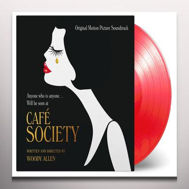 CAFE SOCIETY / O.S.T. (GATE) (LTD) (OGV) (RED) CAFE SOCIETY / O.S.T. Vinyl Record - Gatefold Sleeve, Limited Edition, 180 Gram Pressing, Red Vinyl