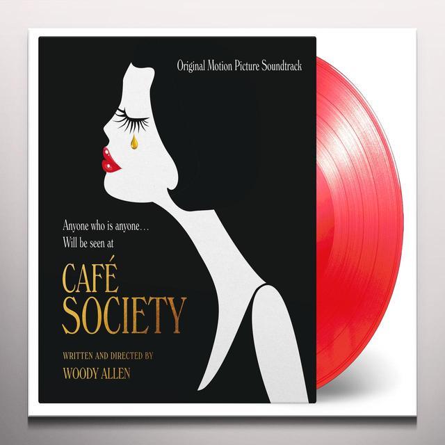 CAFE SOCIETY / O.S.T. (GATE) (LTD) (OGV) (RED) CAFE SOCIETY / O.S.T. Vinyl Record - Gatefold Sleeve, Limited Edition, 180 Gram Pressing, Red Vinyl