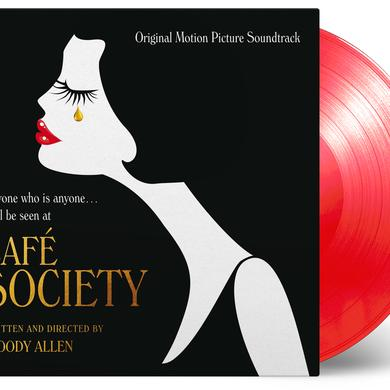 CAFE SOCIETY / O.S.T. (GATE) (LTD) (OGV) (RED) CAFE SOCIETY / O.S.T. Vinyl Record