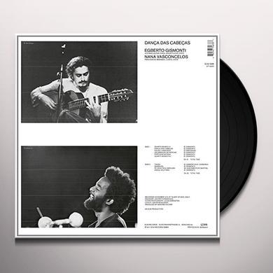 Egberto Gismonti DANCA DAS CABECAS Vinyl Record