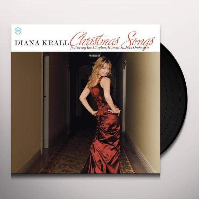 Diana Krall CHRISTMAS SONGS Vinyl Record