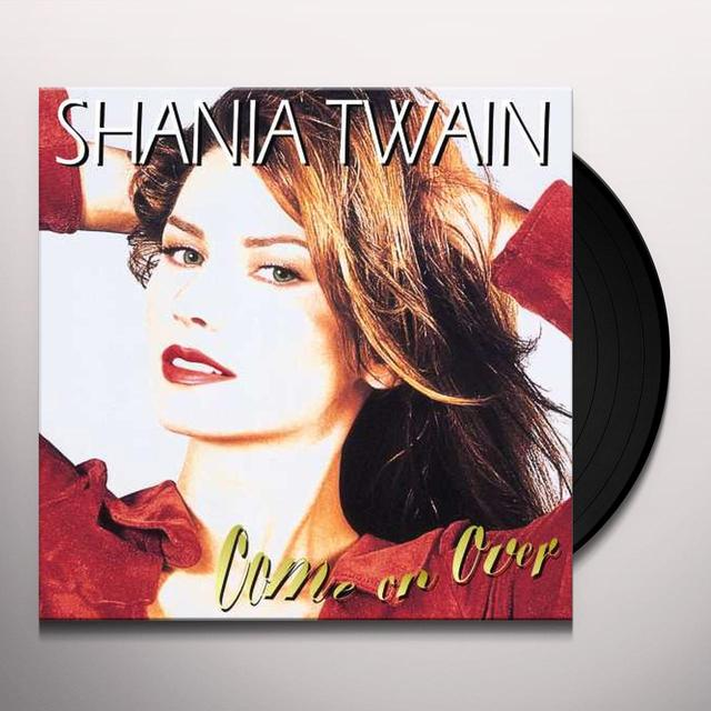 Shania Twain COME ON OVER Vinyl Record