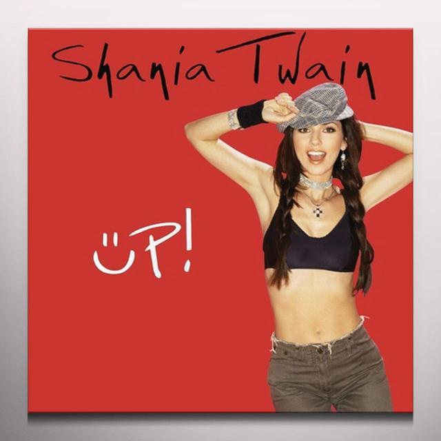 Shania Twain UP Vinyl Record - Colored Vinyl, Red Vinyl