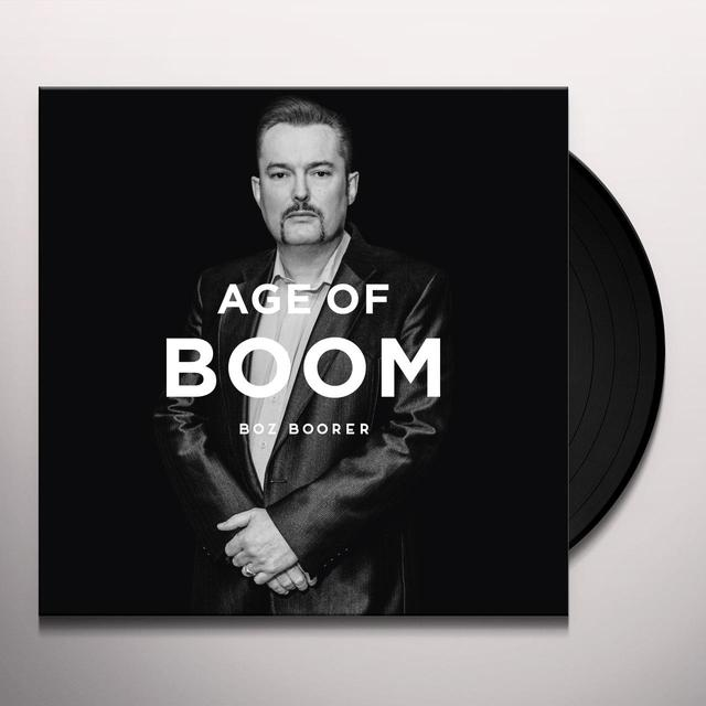 Boz Boorer AGE OF BOOM Vinyl Record