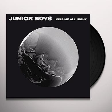 Junior Boys KISS ME ALL NIGHT Vinyl Record - Black Vinyl, Limited Edition