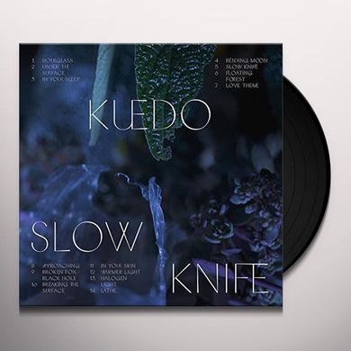 Kuedo SLOW KNIFE Vinyl Record - Gatefold Sleeve