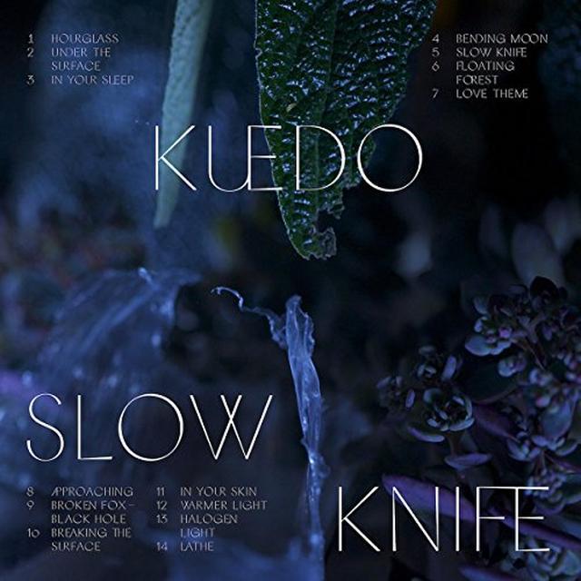 Kuedo SLOW KNIFE Vinyl Record - Gatefold Sleeve