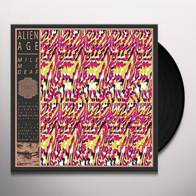 Mile Me Deaf ALIEN DEAF Vinyl Record