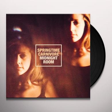 Springtime Carnivore MIDNIGHT ROOM Vinyl Record - Digital Download Included