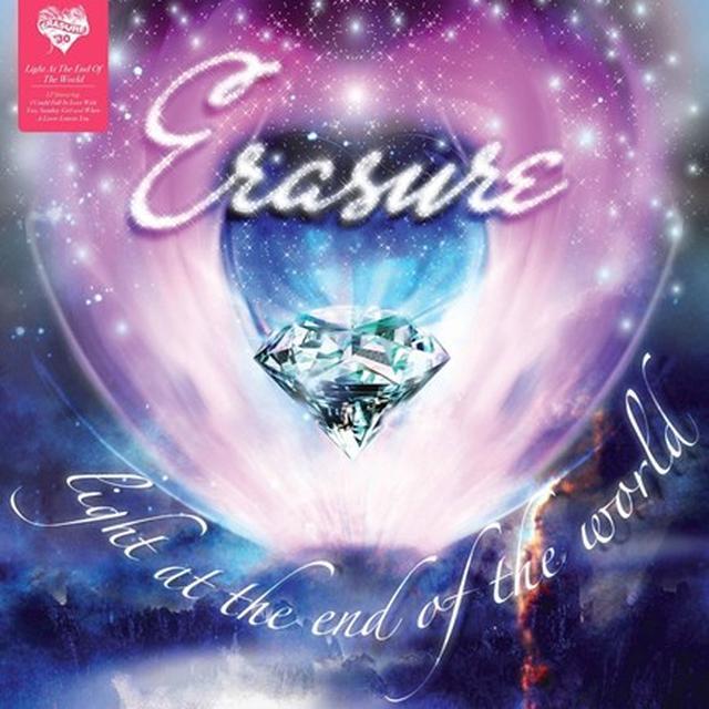 Erasure LIGHT AT THE END OF THE WORLD Vinyl Record - 180 Gram Pressing
